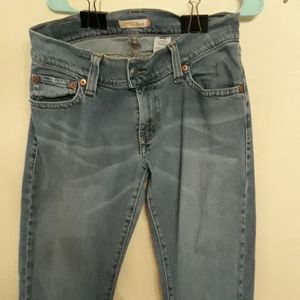 Levi's 504 slouch flare jeans